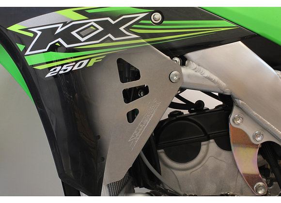 WC Radiator Braces - Kawasaki KX250F 2017-2020
