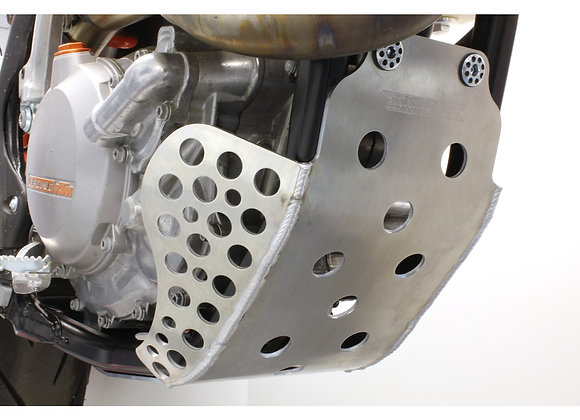 WC Skid Plate Extended Coverage - KTM 500EXC 2012-2014