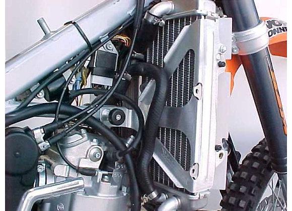 WC Radiator Braces -KTM 450SX 2003, KTM400/520/525 ALL RFS 2001-2003