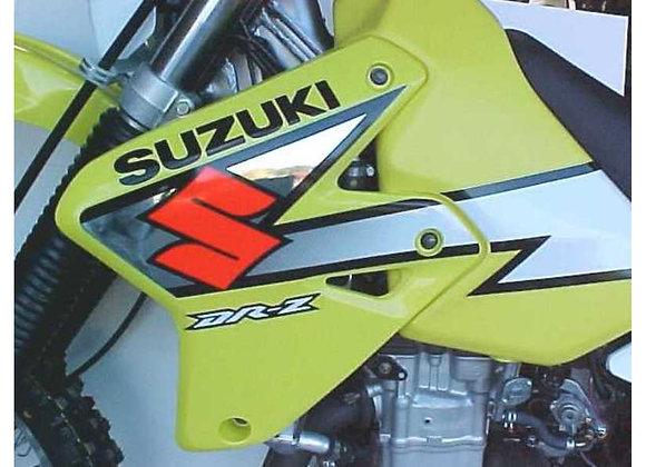 Radiator Braces - Suzuki DR-Z 400E 2000-2001