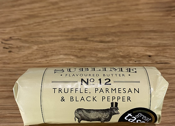 Sublime butter -  Truffle,  Parmesan and Black Pepper