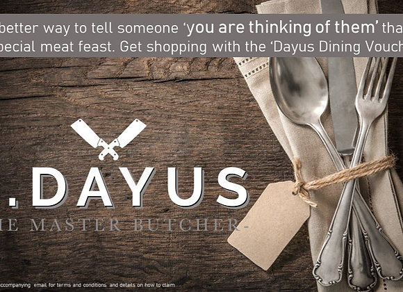Thinking of You Dayus Dining e-Voucher