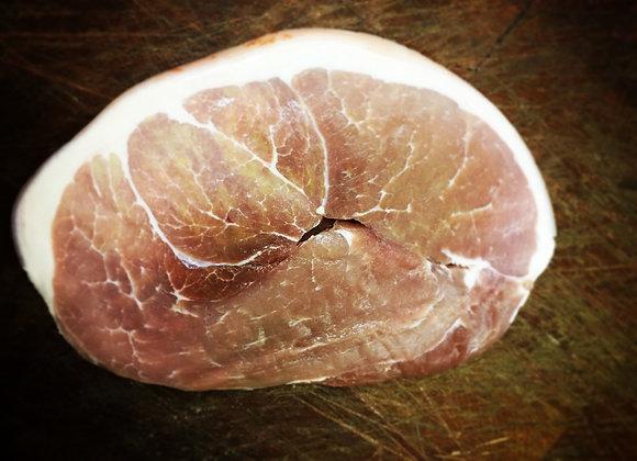 Dry cured gammon steak