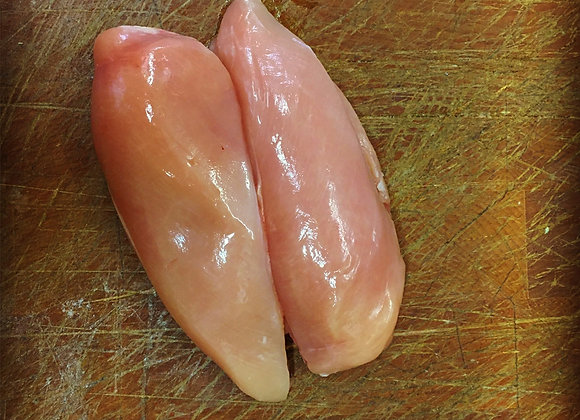 Pack of two free range chicken fillets