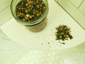 Herbal Hair Rinse with Chamomile