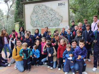 Excursión al zoo de Madrid