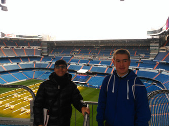 Visita Santiago Bernabéu