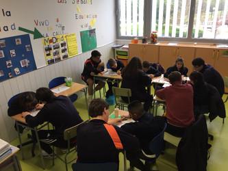 Inclusión con 1º Bachillerato Colegio Alborada