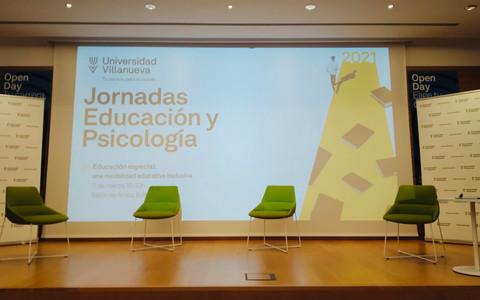 Jornadas de Educación y Psicología: Educación Especial (Universidad Villanueva)