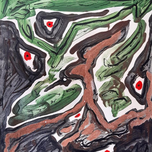 Wilfrid Menard - Peintre autodidacte, Art Brut