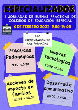 Jornadas de buenas prácticas en Educación Especial.