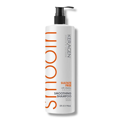 KERAGEN Smoothing Shampoo- 32 OZ