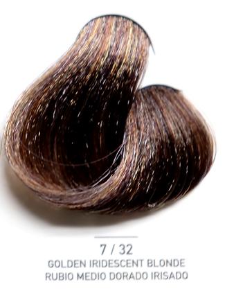 7 / 32 Golden Iridecent Blonde - Rubio Medio Dorado Irisado