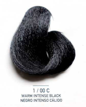 1 / 00C Warm Intense Black - Negro Intenso Calido