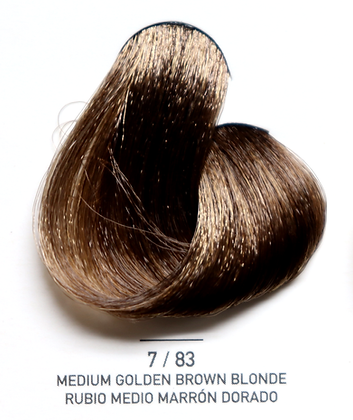 7 / 83 Medium Golden Brown Blonde - Rubio Medio Marron Dorado