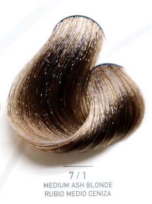 7 / 1 Medium Ash Blonde - Rubio Medio Ceniza