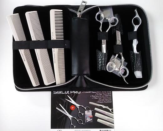 "SilkCut PRO Case: 5"", 5.75"" or 6.5"" shear + additional tools"