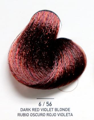 6 / 56 Dark Red Violet Blonde - Rubio Oscuro Rojo Violeta