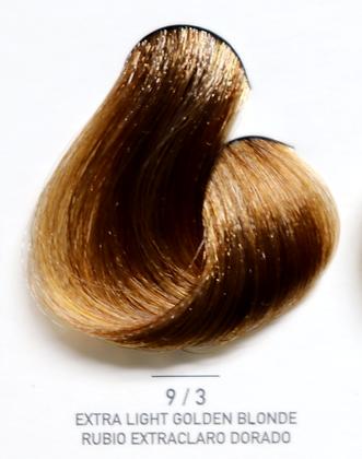 9 / 3 Extra Light Golden Blonde - Rubio Extraclaro Dorado