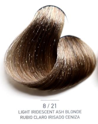 8 / 21 Light Iridecent Ash Blonde - Rubio Claro Irizado Ceniza