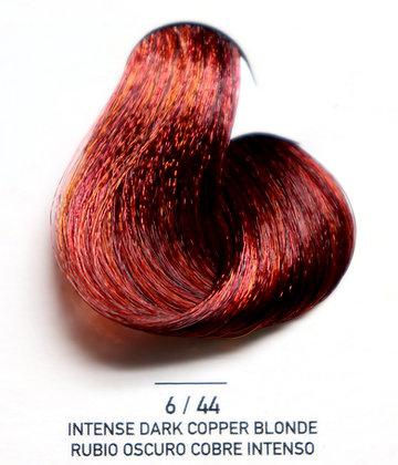 6 / 44  Intense Dark Copper Blonde - Rubio Oscuro Cobre Intenso
