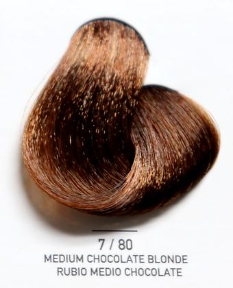7 / 80 Medium Chocolate Blonde - Rubio Medio Chocolate