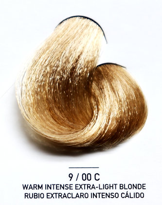 9 / 00C Warm Intense Extra-Light Blonde - Rubio Extraclaro Intenso Cálido