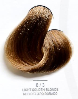 8 / 3 Light Golden Blonde - Rubio Claro Dorado