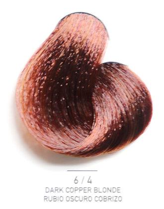6 / 4 Dark Copper Blonde - Rubio Oscuro Cobrizo