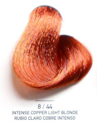 8 / 44 Intense Copper Light Blonde - Rubio Claro Cobre Intenso
