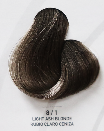 8 / 1 Light Ash Blonde - Rubio Claro Ceniza