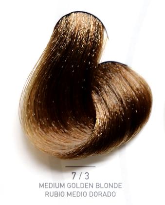 7 / 3 Medium Golden Blonde - Rubio Medio Dorado