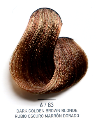 6 / 83 Dark Golden Brown blonde - Rubio Oscuro Marron Dorado
