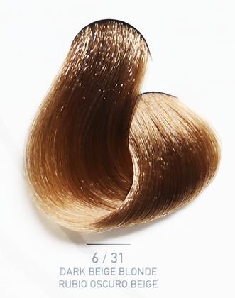 6 / 31 Dark Beige Blonde - Rubio Oscuro Beige