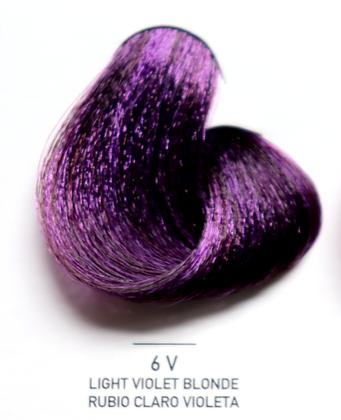 6V Light Violet Blonde - Rubio Claro Violeta