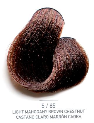 5 / 85 Light Mahogany Brown Chestnut - Castaño Claro Marron Caoba