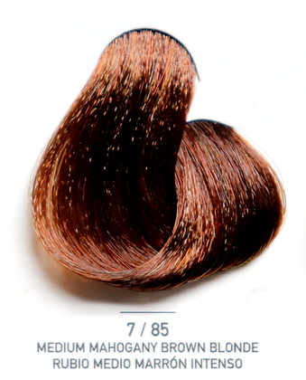 7 / 85 Medium Mahogany Brown Blonde - Rubio Medio Marron Intenso