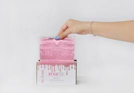 Papel de Aluminio con Relieve Pretty In Pink