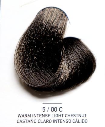 5 / 00C Warm Intense Light Chestnut - Castaño Claro Intenso Calido