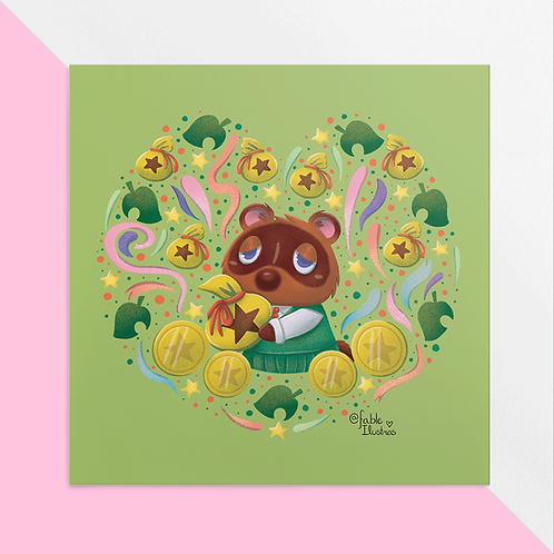 Tom Nook - Animal Crossing