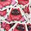 Thumbnail: Adesivo DarumaCat Vermelho