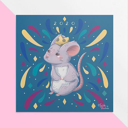 2020 Ano do Rato