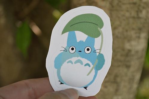 Totoro Azul - Adesivo