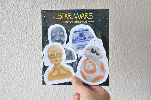 Coleção StarWars - Adesivos