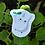 Thumbnail: Totoro Branco - Adesivo