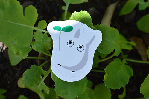 Totoro Branco - Adesivo