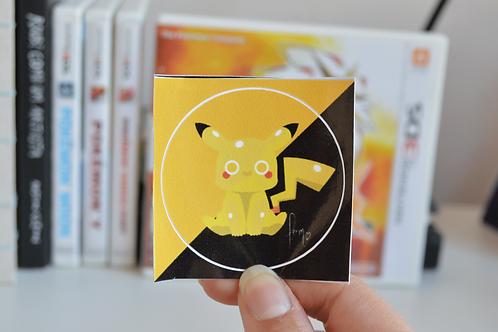 Pikachu - Pokemon Adesivo