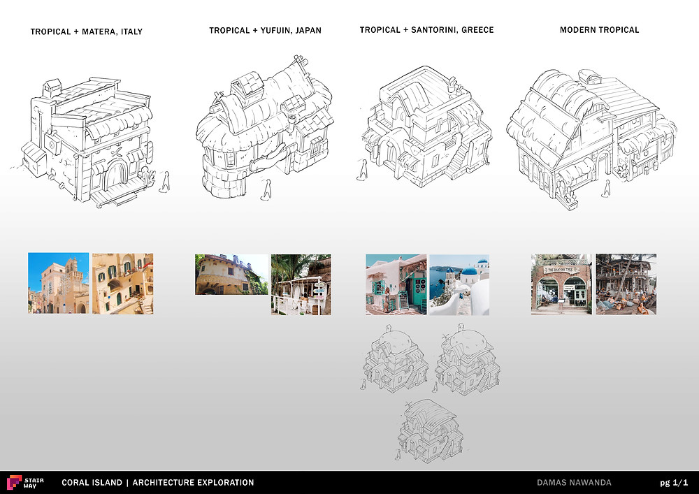Coral Island's Architecture Exploration