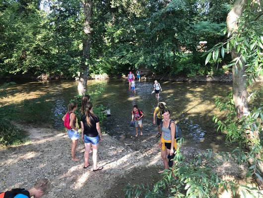 Zeleni kamp - 4. dan - V reki Rižani