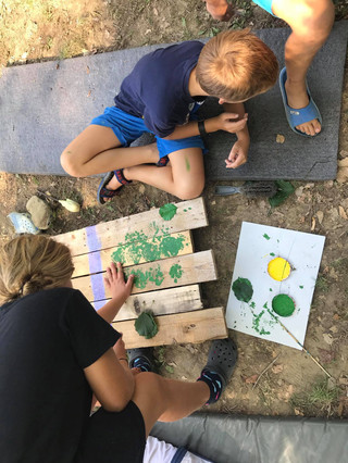 Zeleni kamp - 5.dan - Priprava table